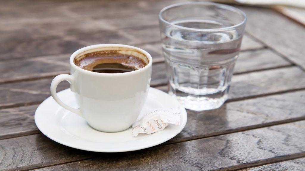 Wasser für Wasser_Kaffee