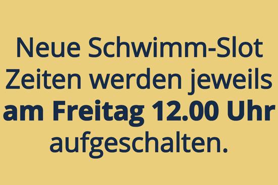Bild von Schwimmslot mit Platzgarantie (15 Slots/45 Min.)